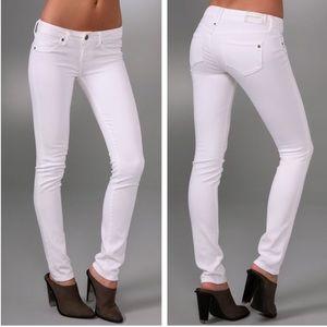 Genetic Denim Shane cigarette jeans in Pale white